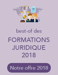 Best of des formations juridiques 2018
