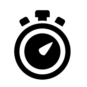 Chronomètre icône