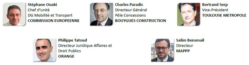 Intervenants annoncés Forum PPP