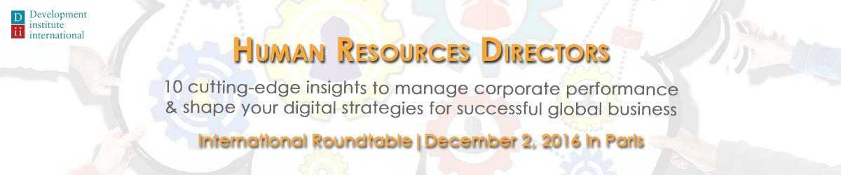 HR Directors roundtable