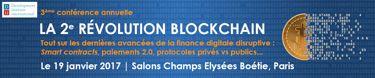 La disruption Blockchain 2017