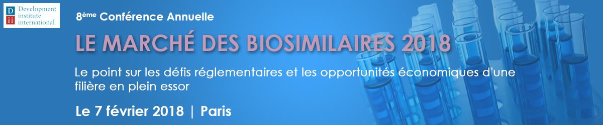 Biosimilaires 2017 header